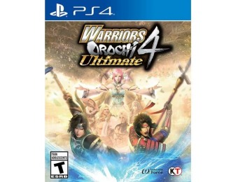 33% off Warriors Orochi 4 Ultimate - PlayStation 4