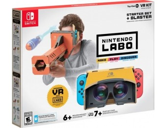 50% off Labo Toy-Con 04: VR Kit - Starter Set + Blaster - Nintendo