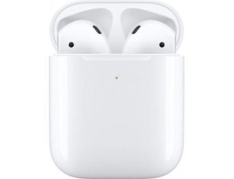 $60 off Apple AirPods w/ Wireless Charging Case (Latest Model), Refurb