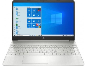 "$150 off HP 15.6"" Touch-Screen Laptop - Ryzen 5, 12GB, 256GB SSD"
