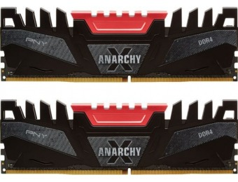 $161 off PNY Anarchy-X 16GB (2PK 8GB) 3.2GHz DDR4 Desktop Memory