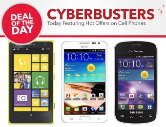 Cell Phone Cyberbusters - Deals on cell phones & accessories