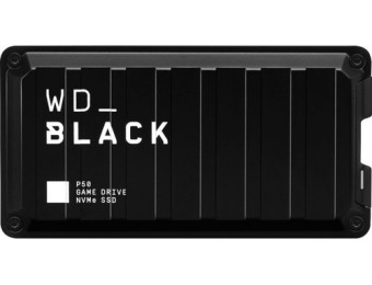$34 off WD Black P50 500GB USB 3.2 Gen 2x2 Portable SSD