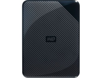 $37 off WD Gaming Drive 4TB USB 3.0 Portable Hard Drive