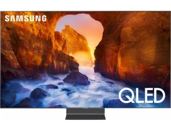 "$2,200 off Samsung 82"" LED Q90 Smart 4K UHD TV"
