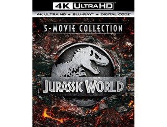 $45 off Jurassic World 5-Movie Collection (4K Ultra HD Blu-ray)