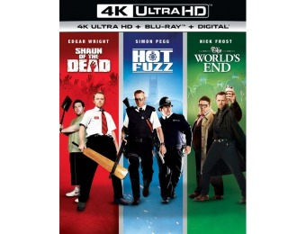 44% off The World's End/Hot Fuzz/Shaun of the Dead Trilogy 4K