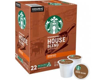$4 off Starbucks House Blend K-Cup Pods (22-Pack)