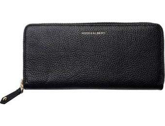 $75 off Hook & Albert Zip-Around Wallet - Black