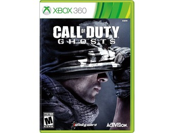 $19.50 off Call of Duty: Ghosts (Xbox 360)