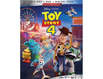 $19 off Toy Story 4 (Blu-ray/DVD)