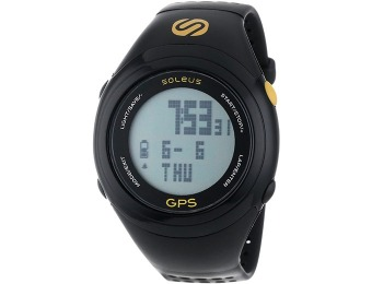 $45 off Soleus GPS Fit 1.0 Digital Watch - Track Your Running