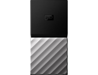 $100 off WD My Passport SSD 512GB USB 3.1 Gen 2 Portable SSD