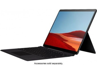 "$400 off Microsoft Surface Pro X 13"" - SQ1, 8GB, 256GB SSD, 4G LTE"