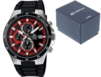 $96 off Casio Edifice Professional Chronograph Men's Watch