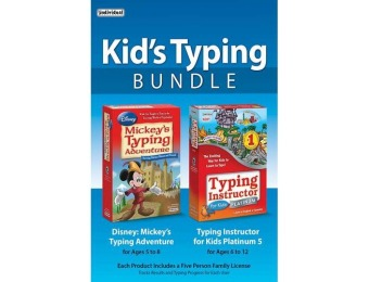 35% off Individual Software Kid's Typing Bundle - Windows