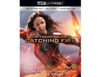 $10 off The Hunger Games: Catching Fire (4K Ultra HD Blu-ray/Blu-ray)