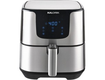 $120 off Kalorik 3.5qt Digital Air Fryer - Stainless Steel