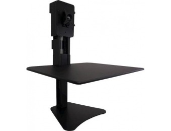 $185 off Victor High Rise Manual Single Monitor Standing Desk