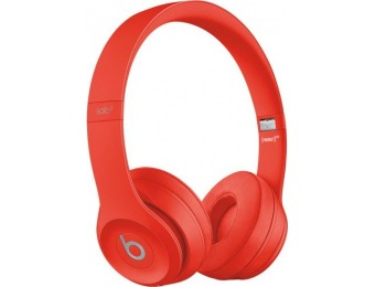 $20 off Beats Solo³ Wireless Headphones (PRODUCT) RED