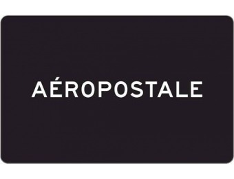 $10 off Aeropostale $50 Gift Code [Digital]