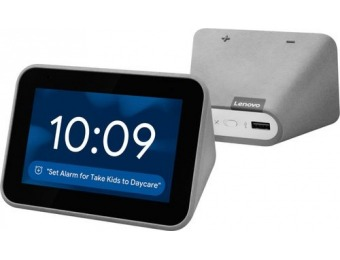 $40 off Lenovo Smart Clock with Google Assistant