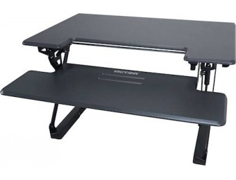$152 off Victor Adjustable Standing Desk with Keyboard Tray