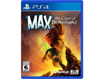 73% off Max: The Curse of Brotherhood - PlayStation 4