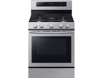 $361 off Samsung Self-cleaning Freestanding Gas Convection Range