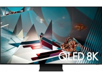 "$300 off Samsung 65"" Q800T Series Smart 8K UHD TV"