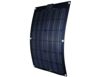 $220 off Nature Power 25W Semi-Flex Solar Panel for 12-Volt Charging