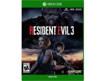 $20 off Resident Evil 3 - Xbox One