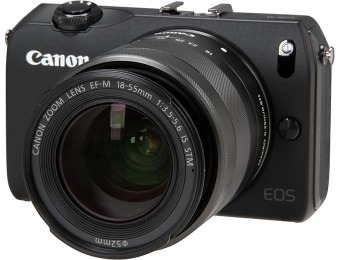 $370 off Canon EOS M Compact System Camera + EF-M 18-55mm