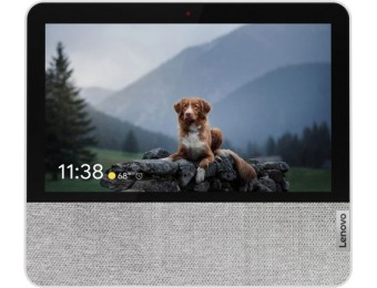 "$40 off Lenovo 7"" Smart Display with Google Assistant"