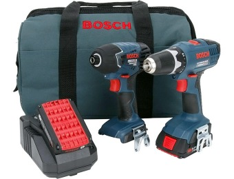 $270 off Bosch 18-Volt Lithium-Ion Combo Kit (2-Tool) CLPK24-180