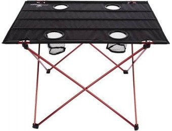 58% off Wakeman Folding Camp Table