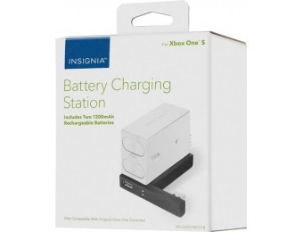 50% off Insignia Battery Charging Station for Xbox One S
