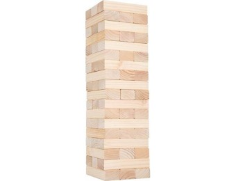 $170 off Classic Giant Wooden Blocks Tower Stacking Game