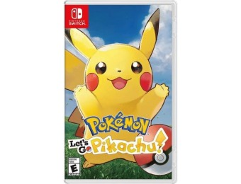 33% off Pokémon: Let's Go, Pikachu! - Nintendo Switch