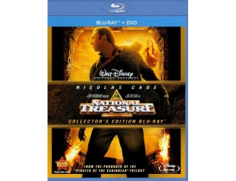 65% off National Treasure (Blu-ray/DVD)