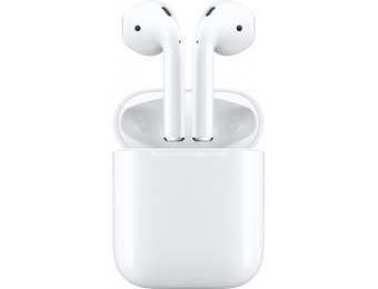 $52 off Apple AirPods with Charging Case (Latest Model), Refurbished