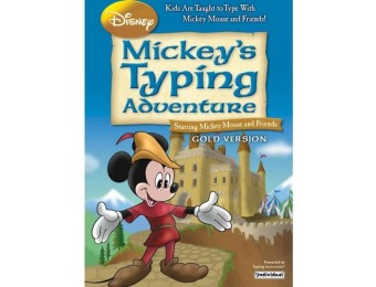 $20 off Disney Mickey's Typing Adventure Gold - Windows
