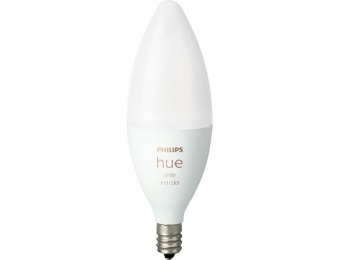 20% off Philips Hue White and Color Ambiance B39