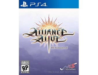 $29 off The Alliance Alive HD Remastered Awakening Edition