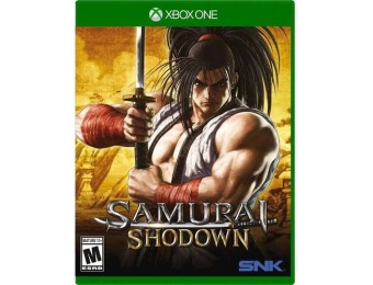 58% off Samurai Shodown - Xbox One