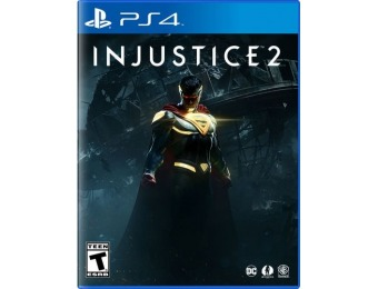 75% off Injustice 2 - PlayStation 4
