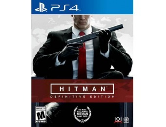 75% off Hitman: Definitive Edition - PlayStation 4