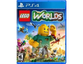50% off LEGO Worlds - PlayStation 4