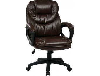 $128 off Office Star Products Faux Leather Manager's Chair