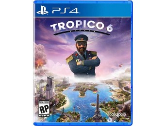 63% off Tropico 6 - PlayStation 4